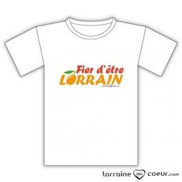 T-shirt Lorraine - Fier(e) d'être Lorrain(e)