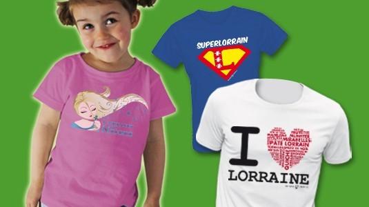 T-shirts Humour Lorrain