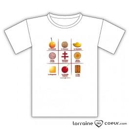 T-shirt - Spécialités Lorraines